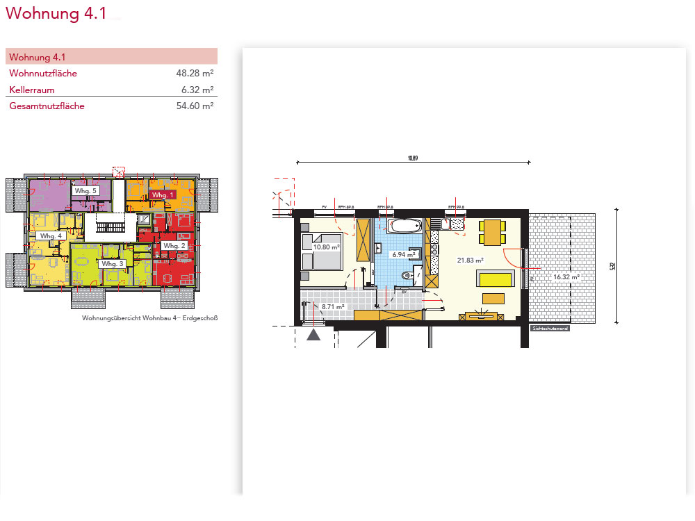 Wohnung 4.1