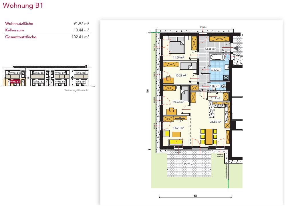Wohnung B1