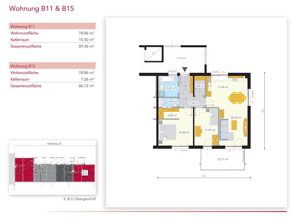 Wohnung B15