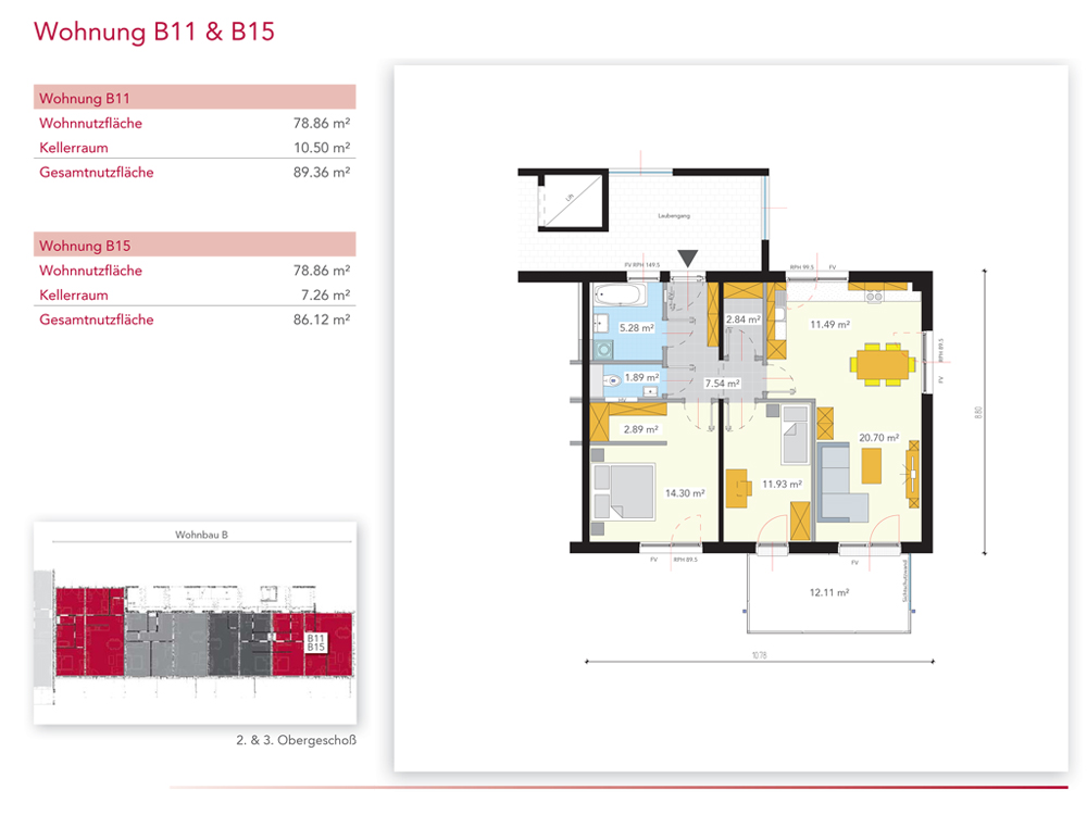 Wohnung B11