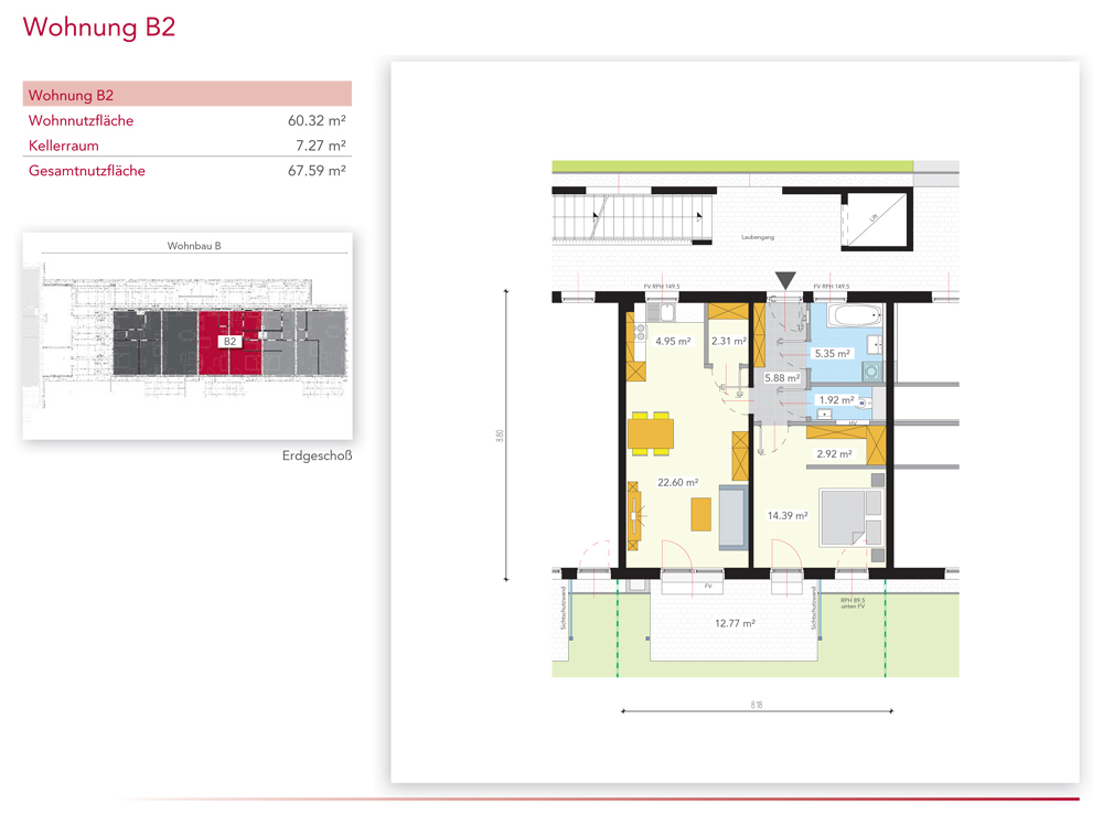 Wohnung B2
