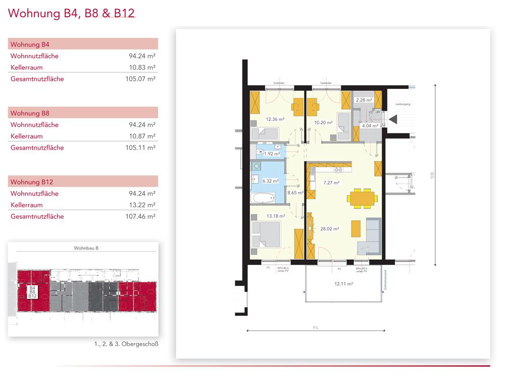 Wohnung B12