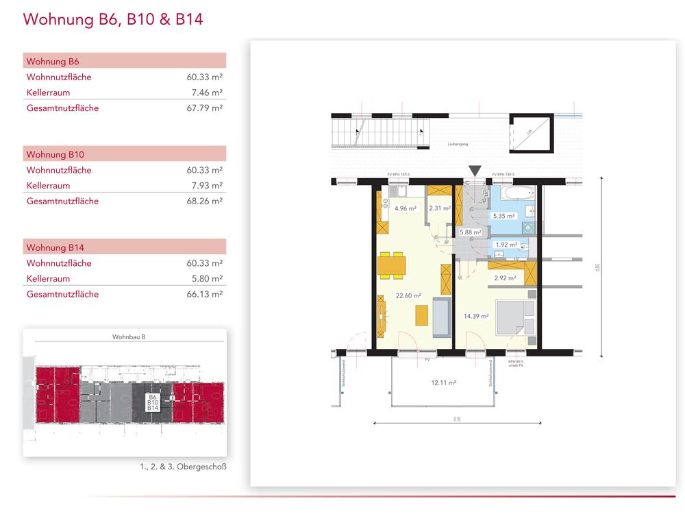 Wohnung B14