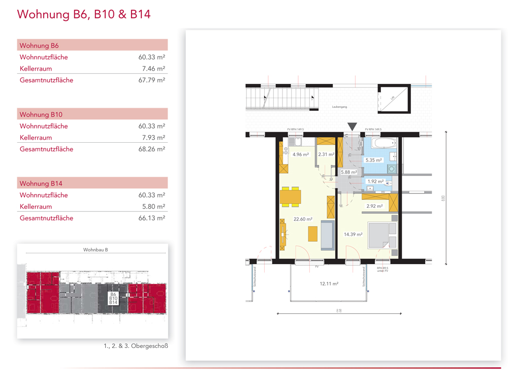Wohnung B6