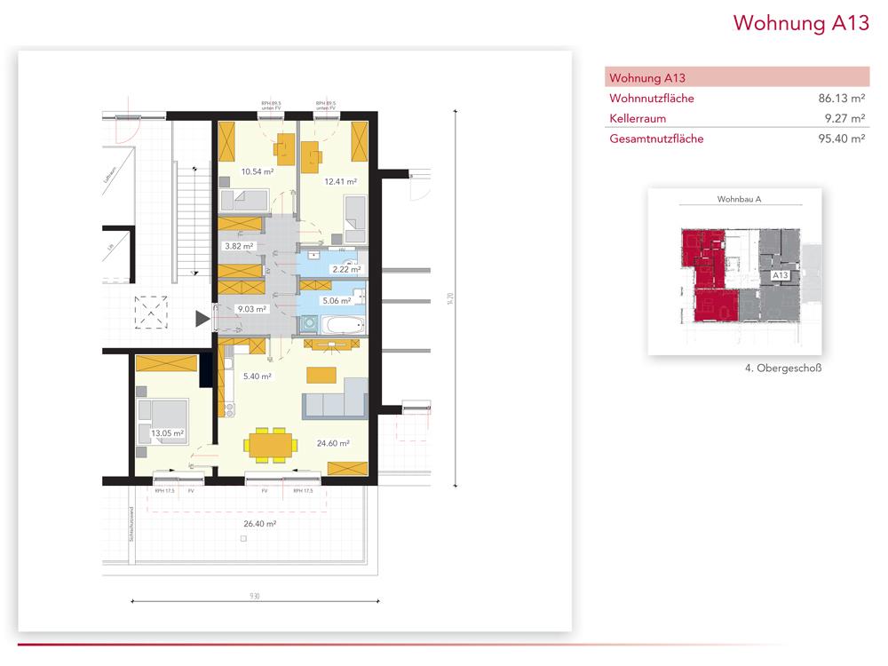 Wohnung A13