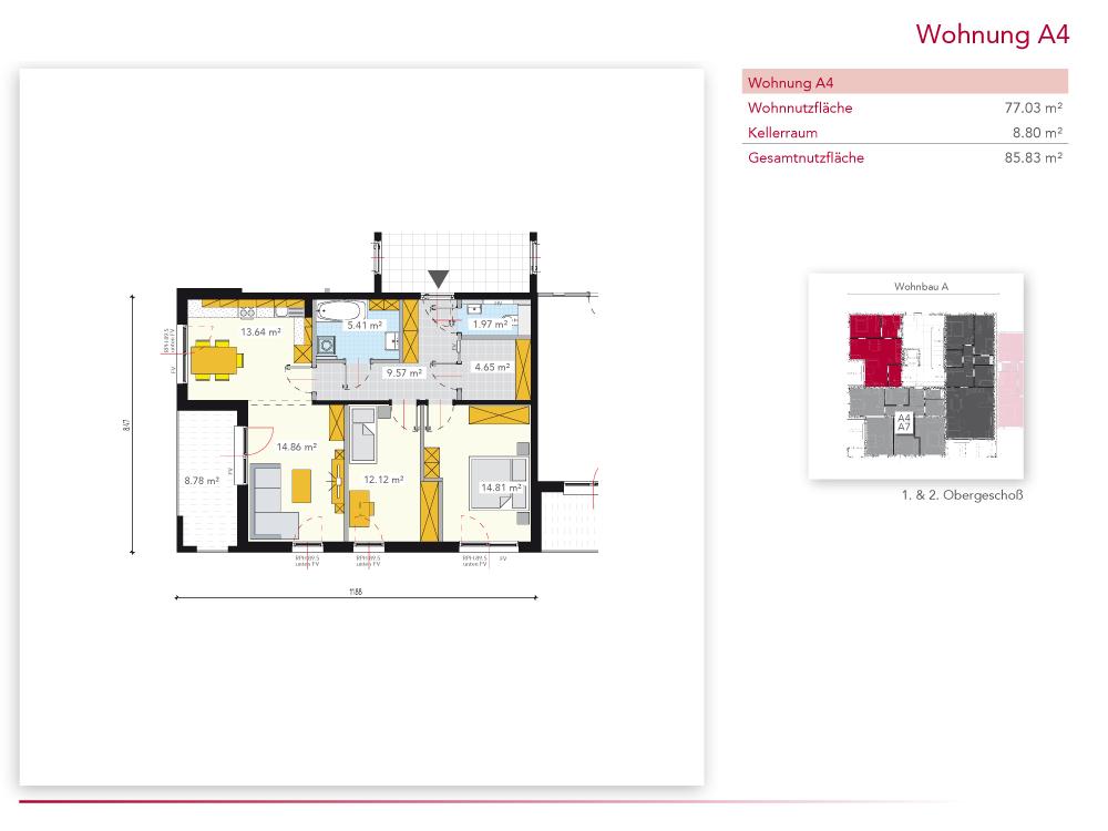 Wohnung A4