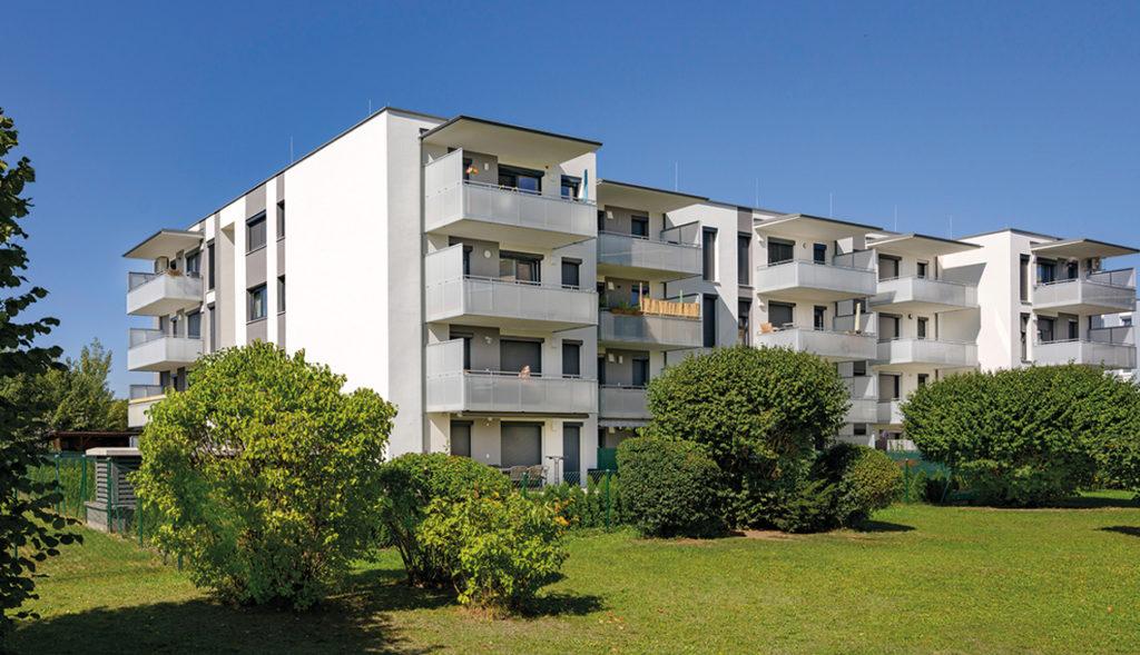 Schöner Wohnbau in Graz-Liebenau
