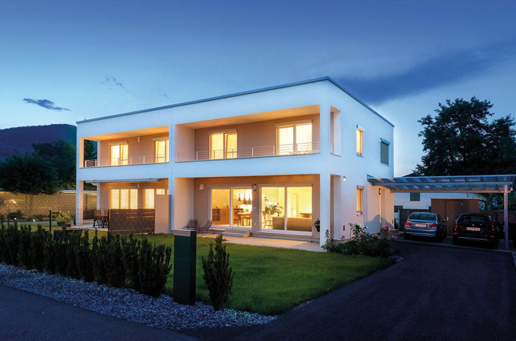 Neue Doppelhäuser in Graz-Straßgang