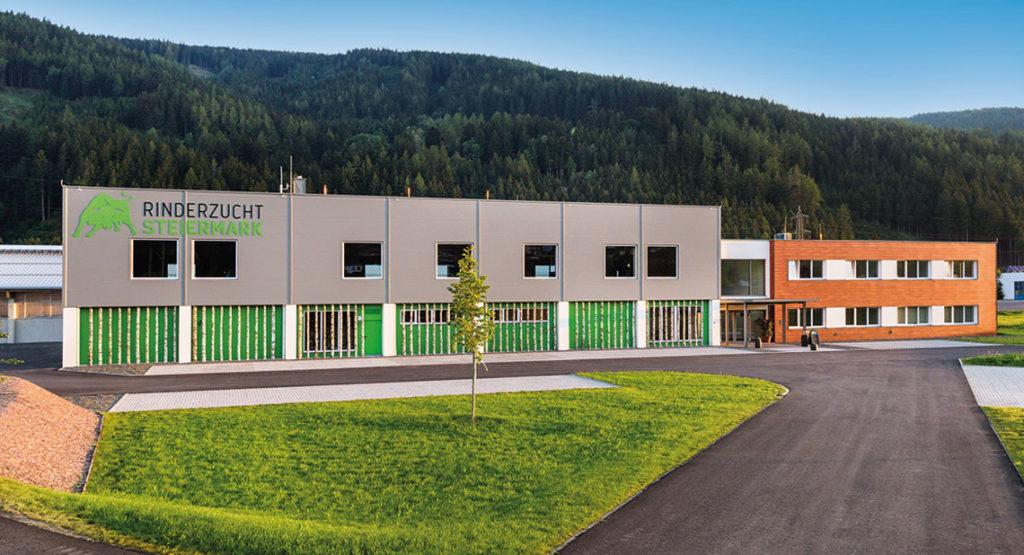 Objektbau - Rinderzuchtzentrum in Traboch