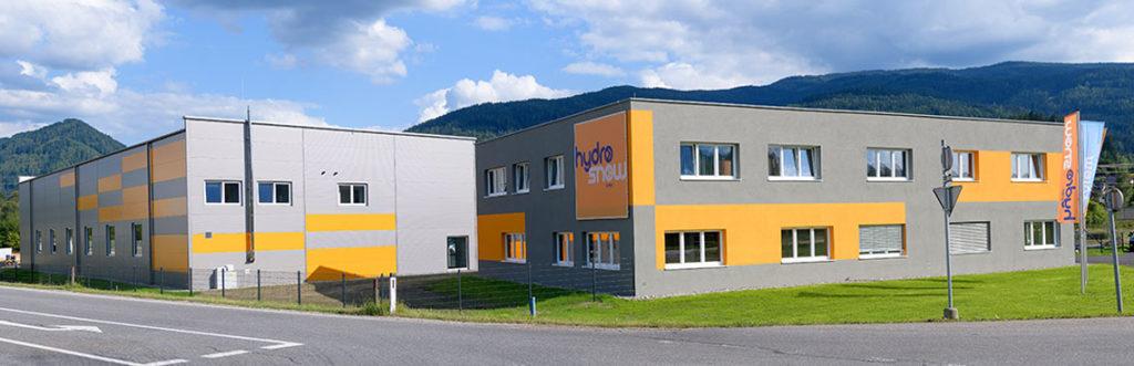 Produktionsstätte Fa. Hydrosnow in St. Barbara/Mzt.