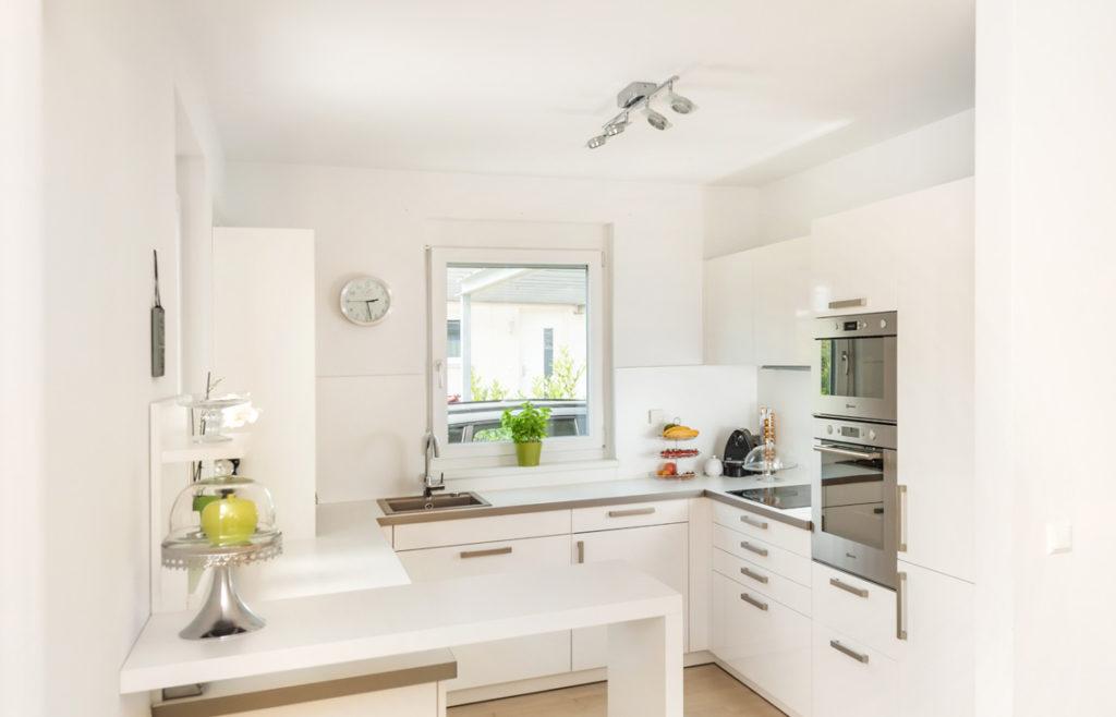 Küche in einem Doppelhaus