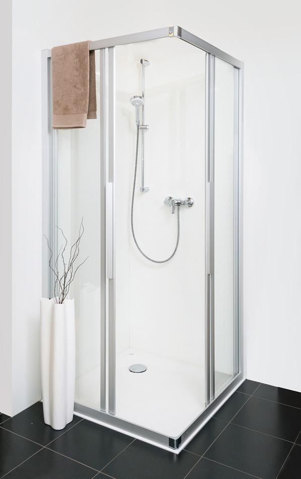 Standard-Dusche