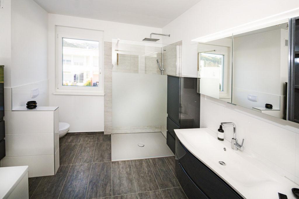 Badezimmer in einem 113m² großem Reihenhaus