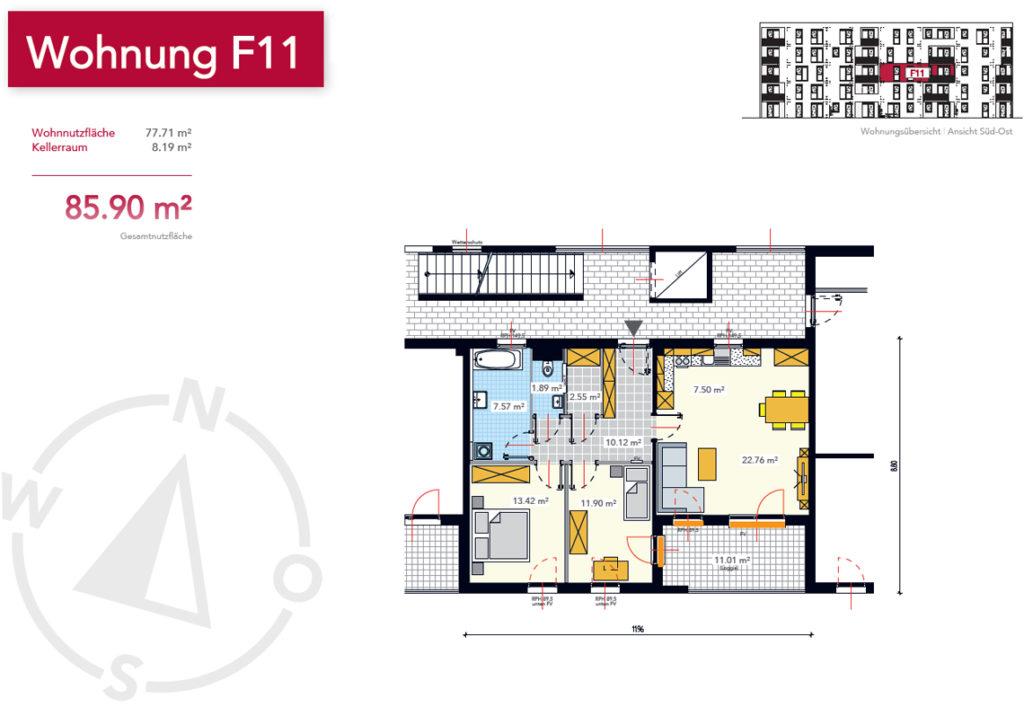 Wohnung F11