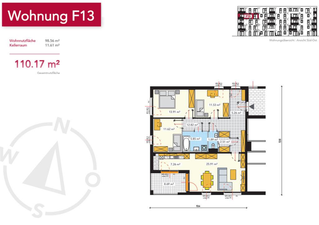 Wohnung F13