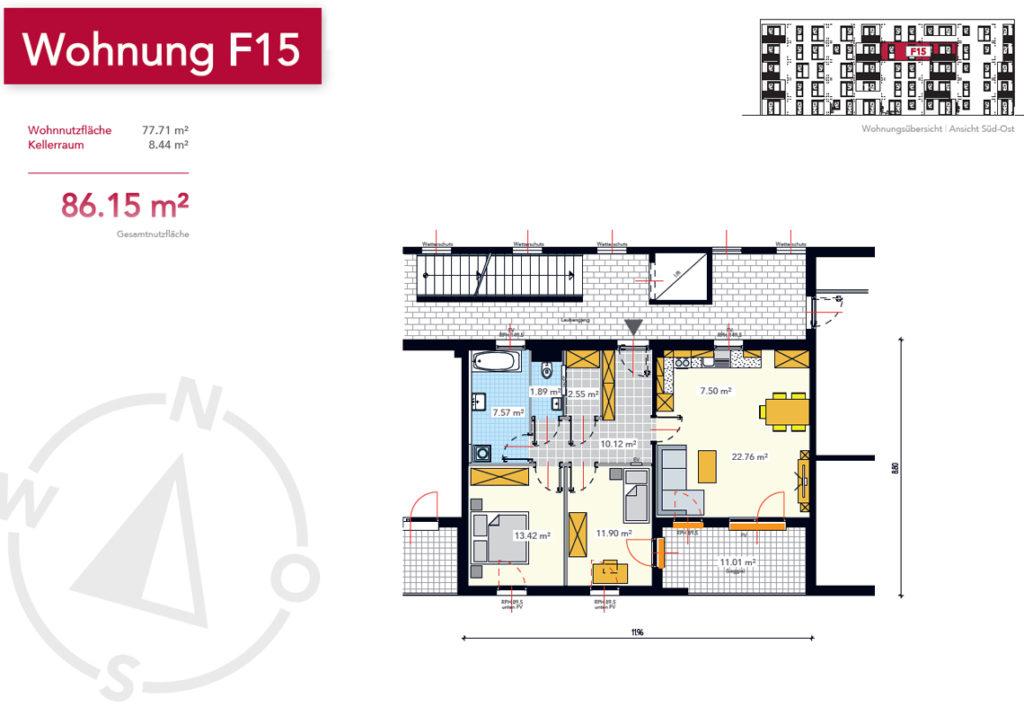 Wohnung F15