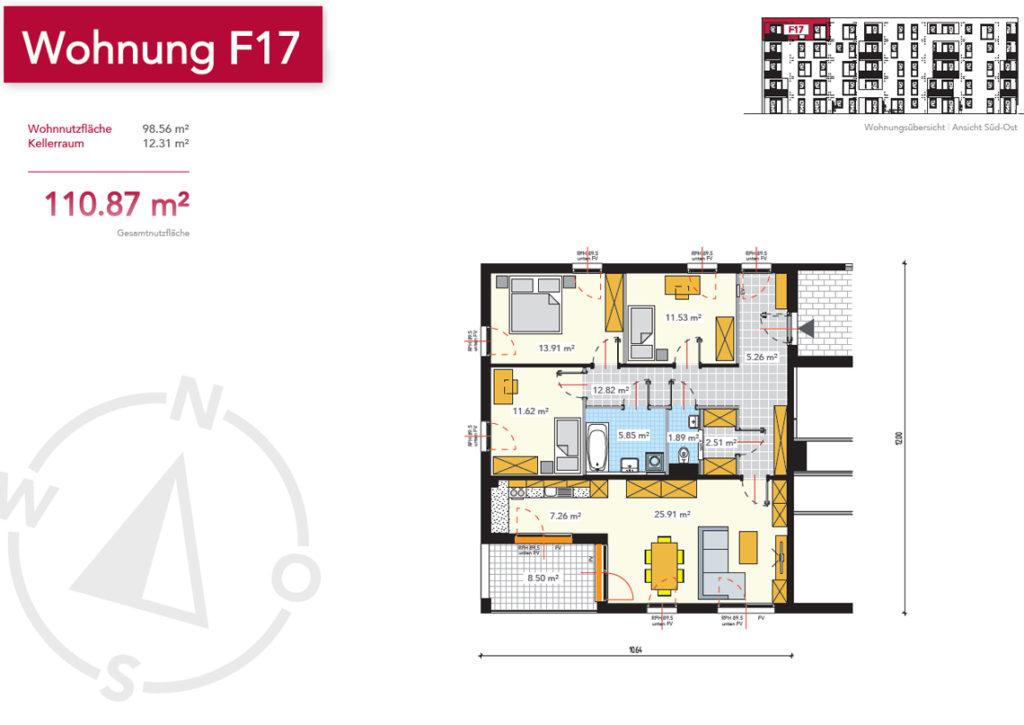 Wohnung F17