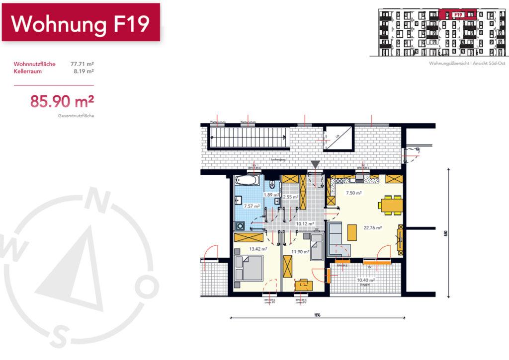 Wohnung F19