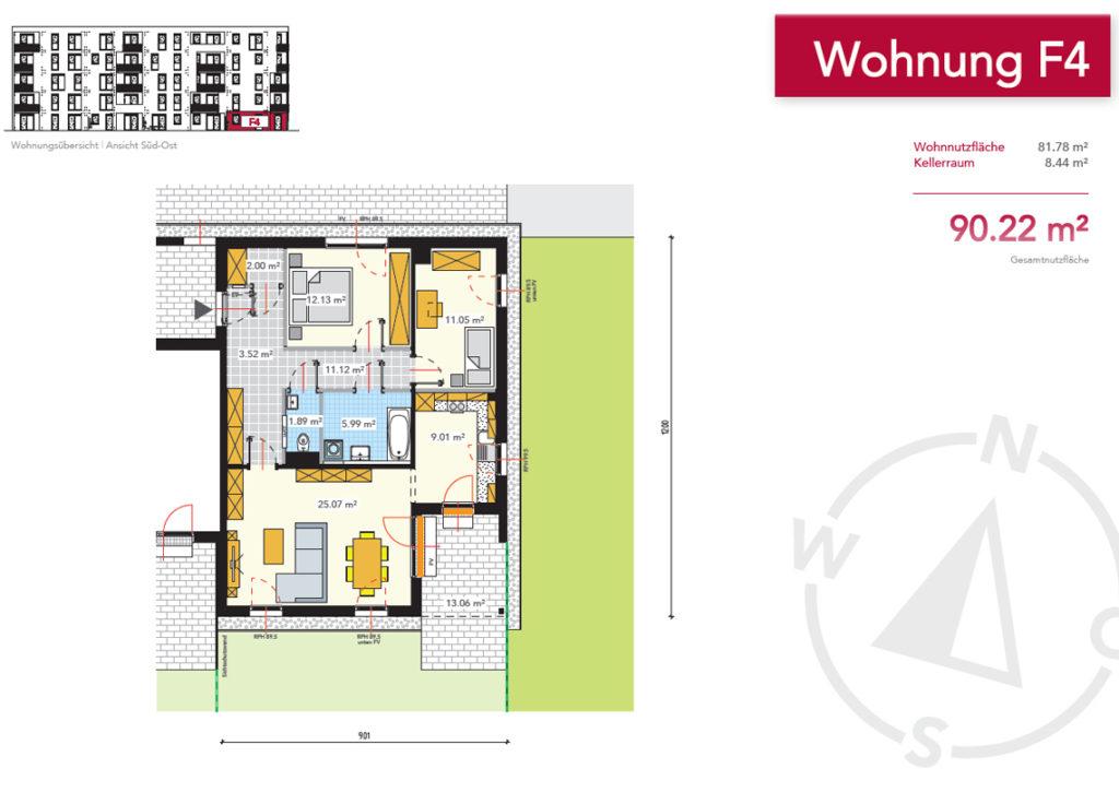 Wohnung F4