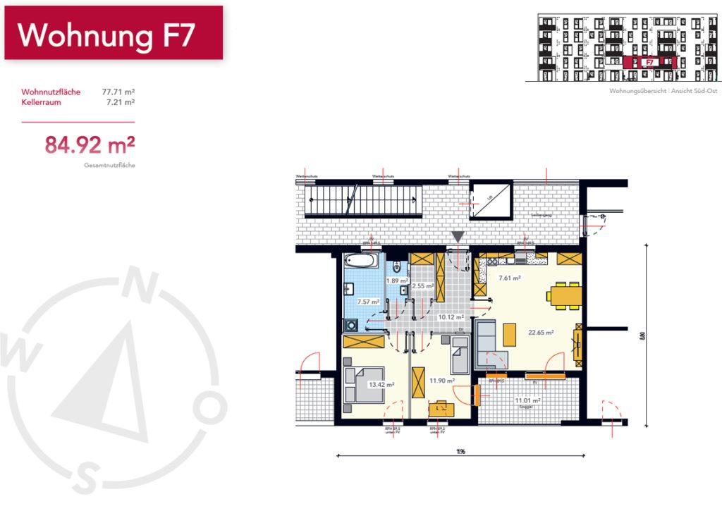 Wohnung F7