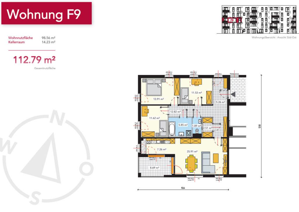 Wohnung F9