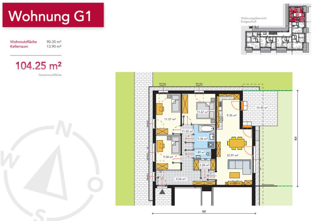 Wohnung G1