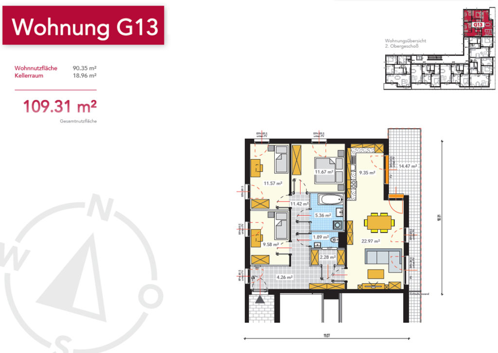 Wohnung G13