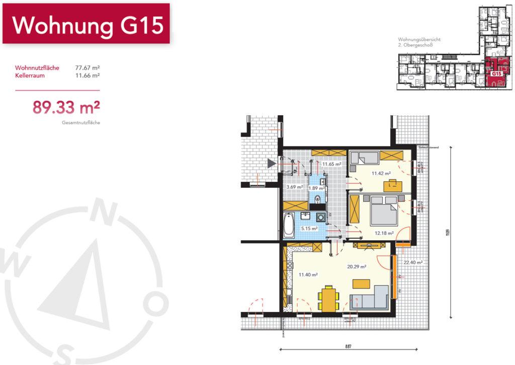 Wohnung G15