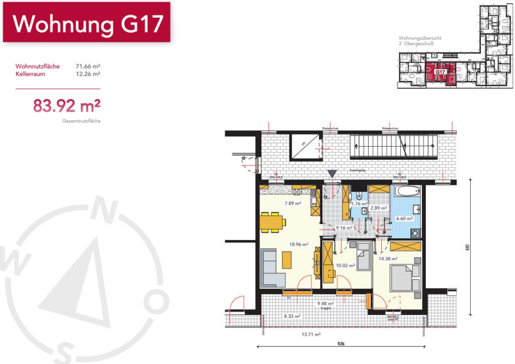Wohnung G17