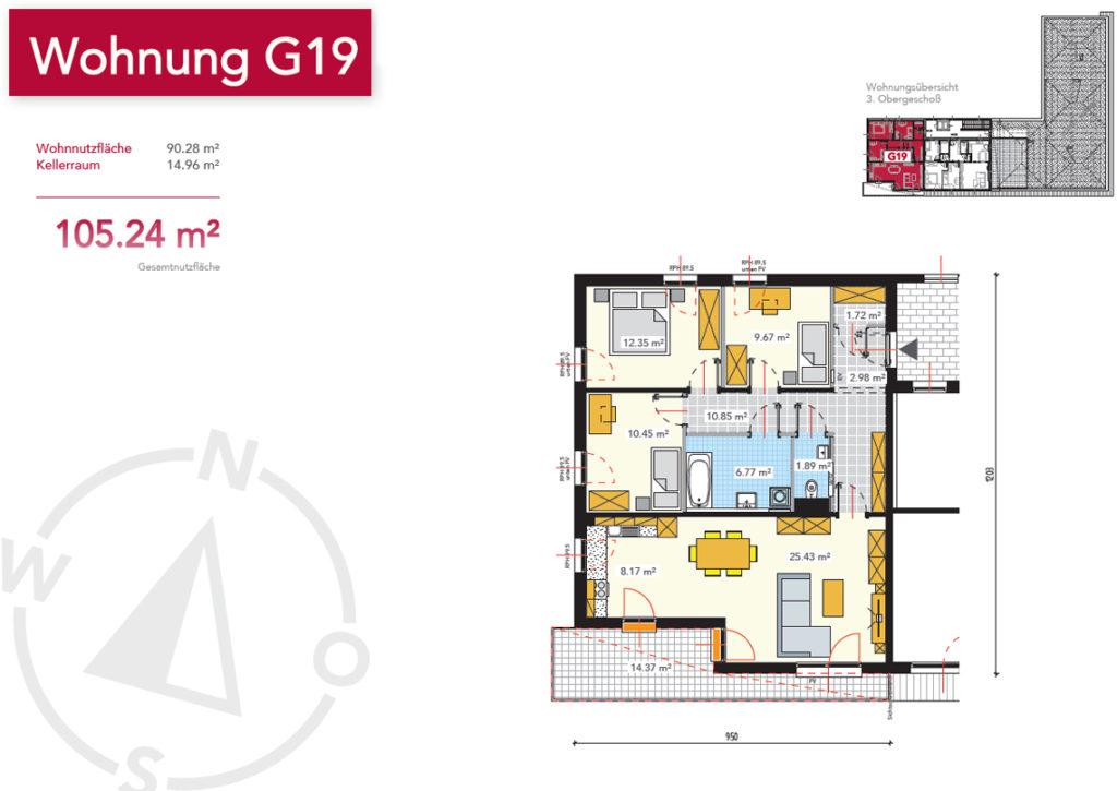 Wohnung G19
