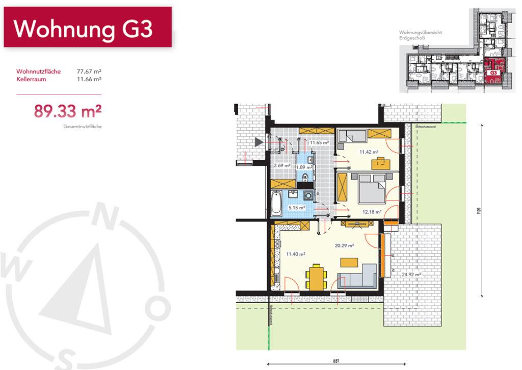 Wohnung G3
