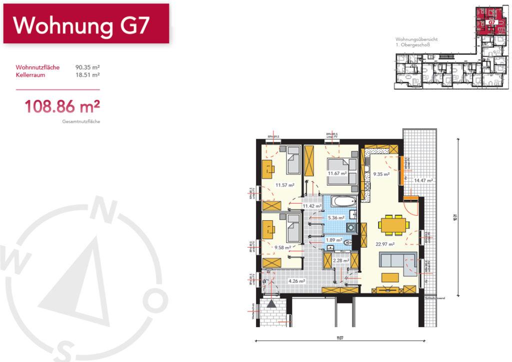 Wohnung G7