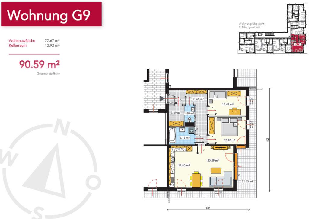 Wohnung G9