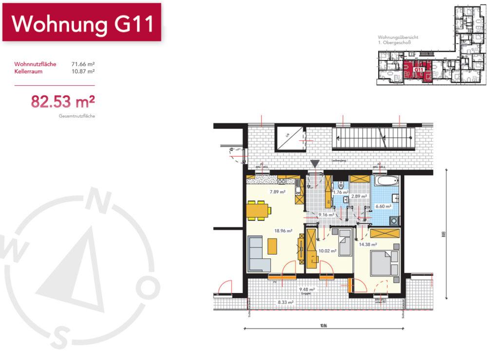 Wohnung G11