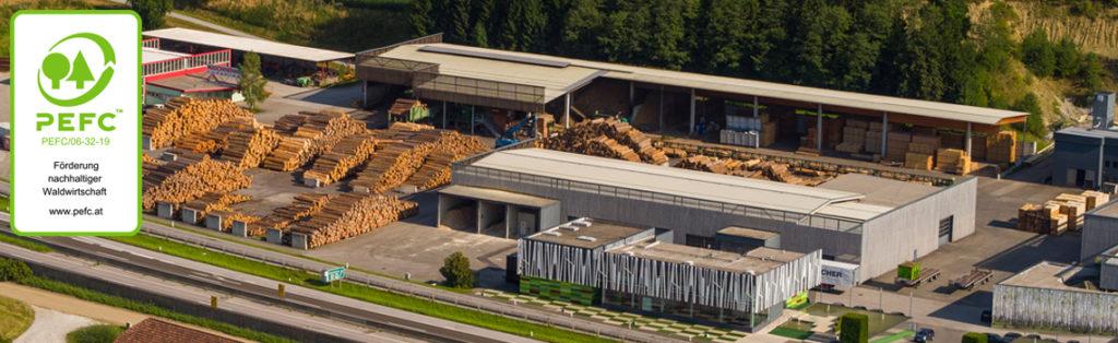 KOHLBACHER Holzindustrie - Holz Einkauf und Verarbeitung - mit PEFC Zertifikat