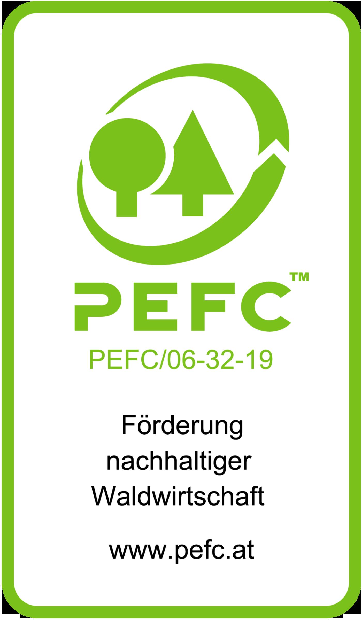 PEFC Logo KOHLBACHER Holzindustrie
