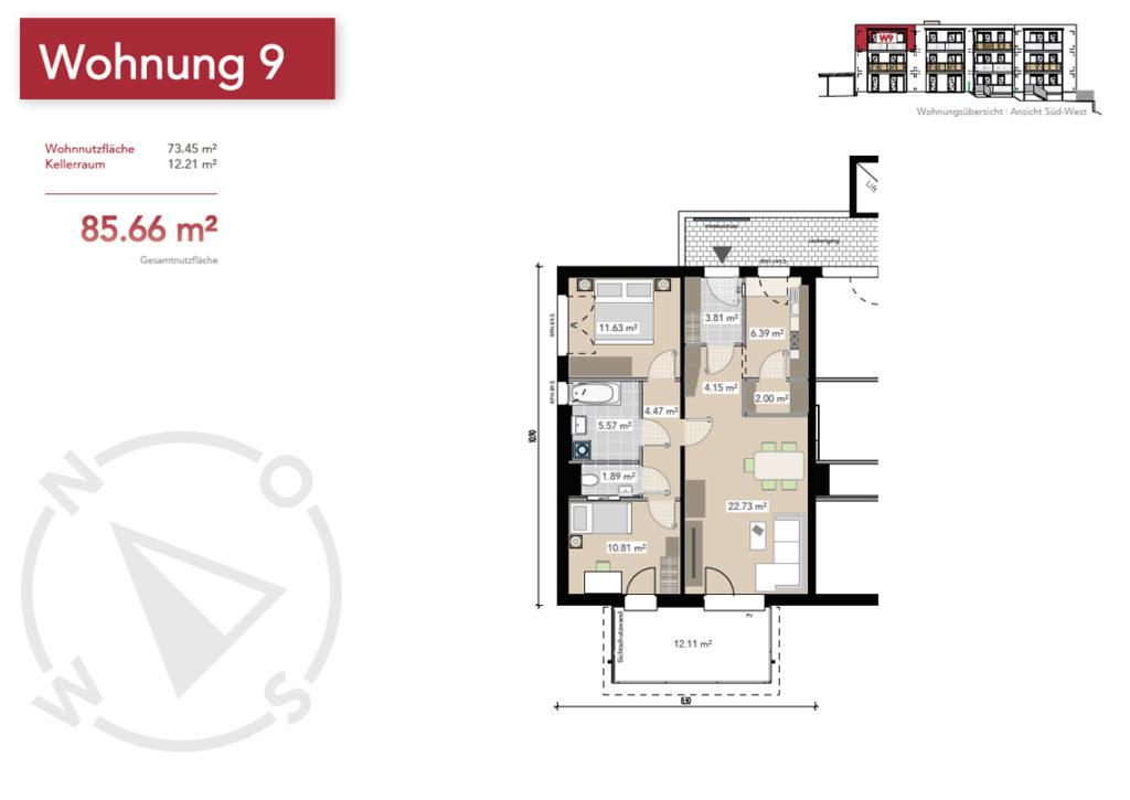 Wohnung 9