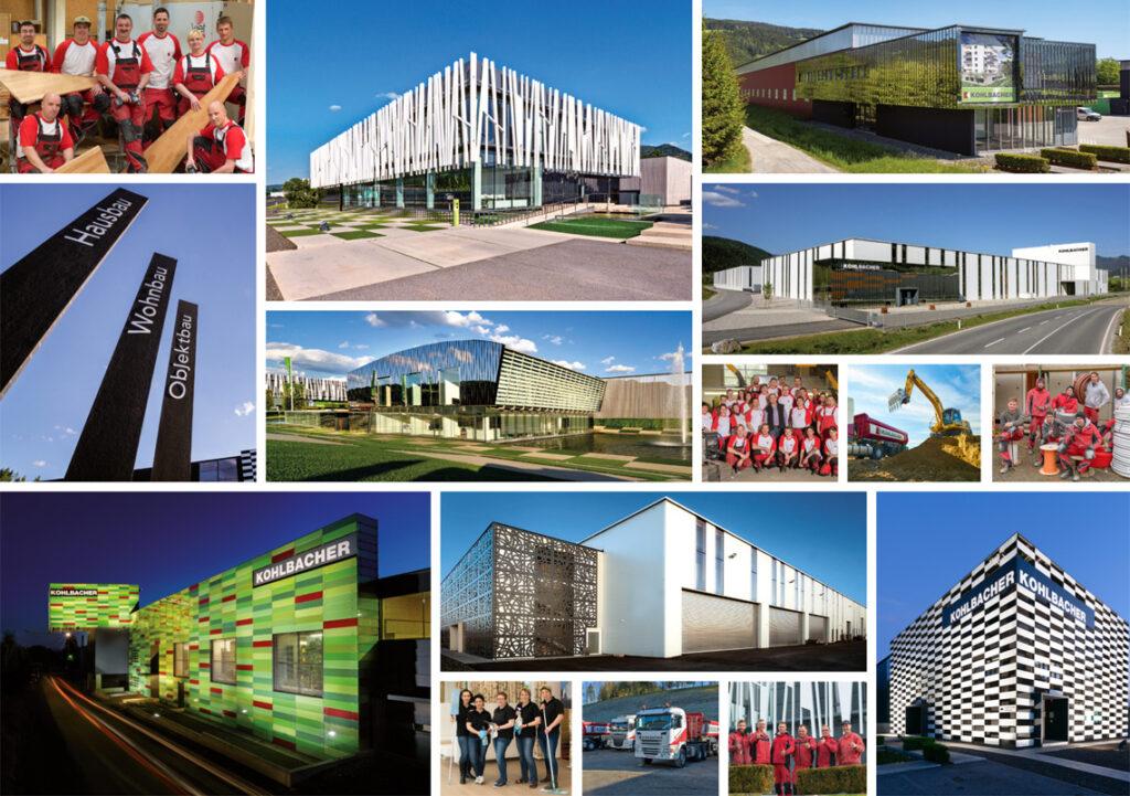Firmenbilder KOHLBACHER, Standorte und Mitarbeiter