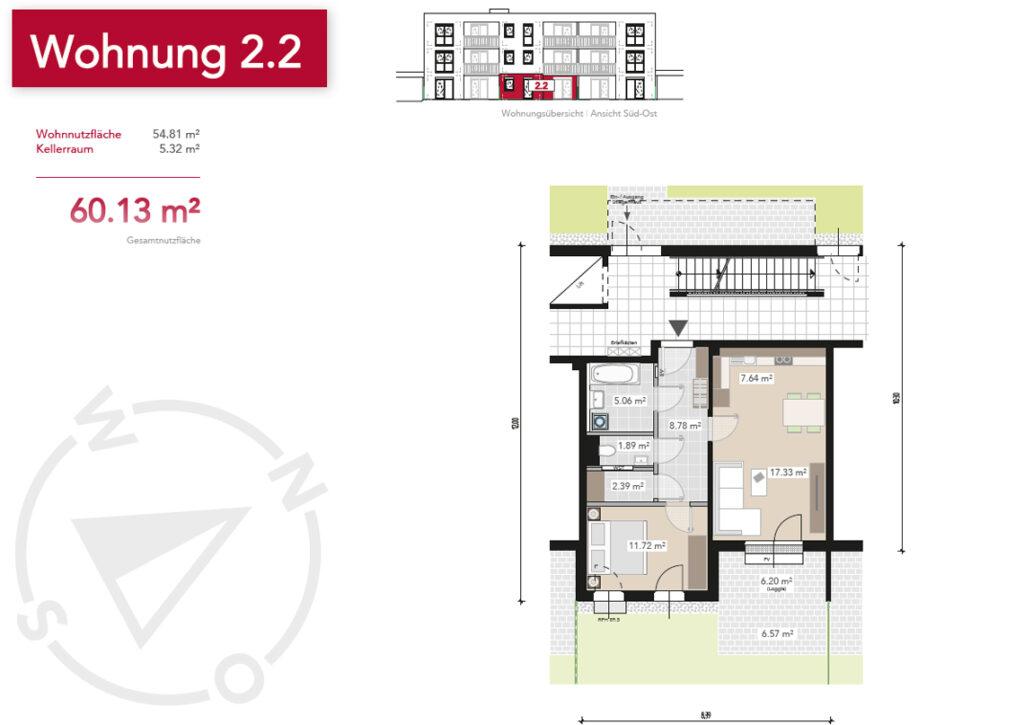 Wohnung 2.2
