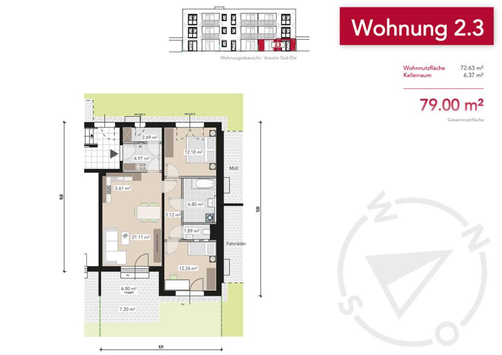 Wohnung 2.3