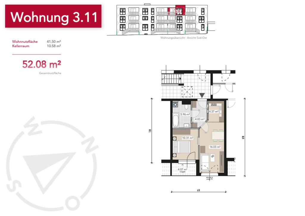 Wohnung 3.11