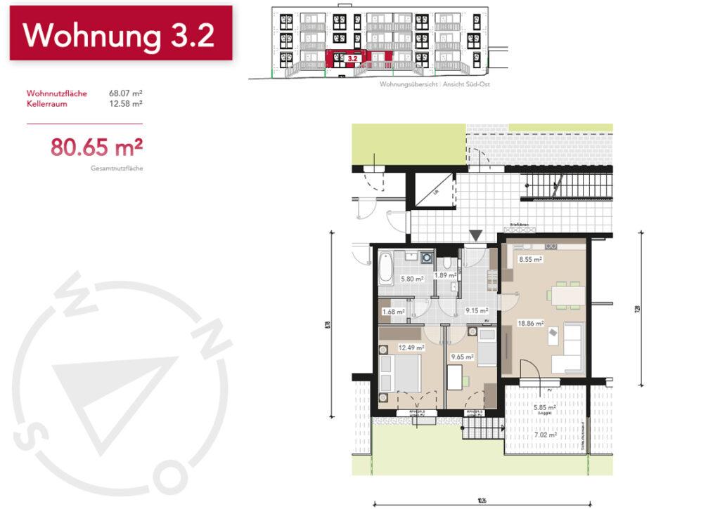 Wohnung 3.2