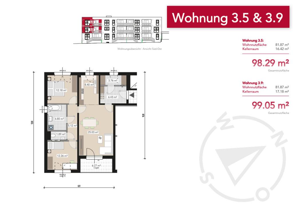 Wohnung 3.5