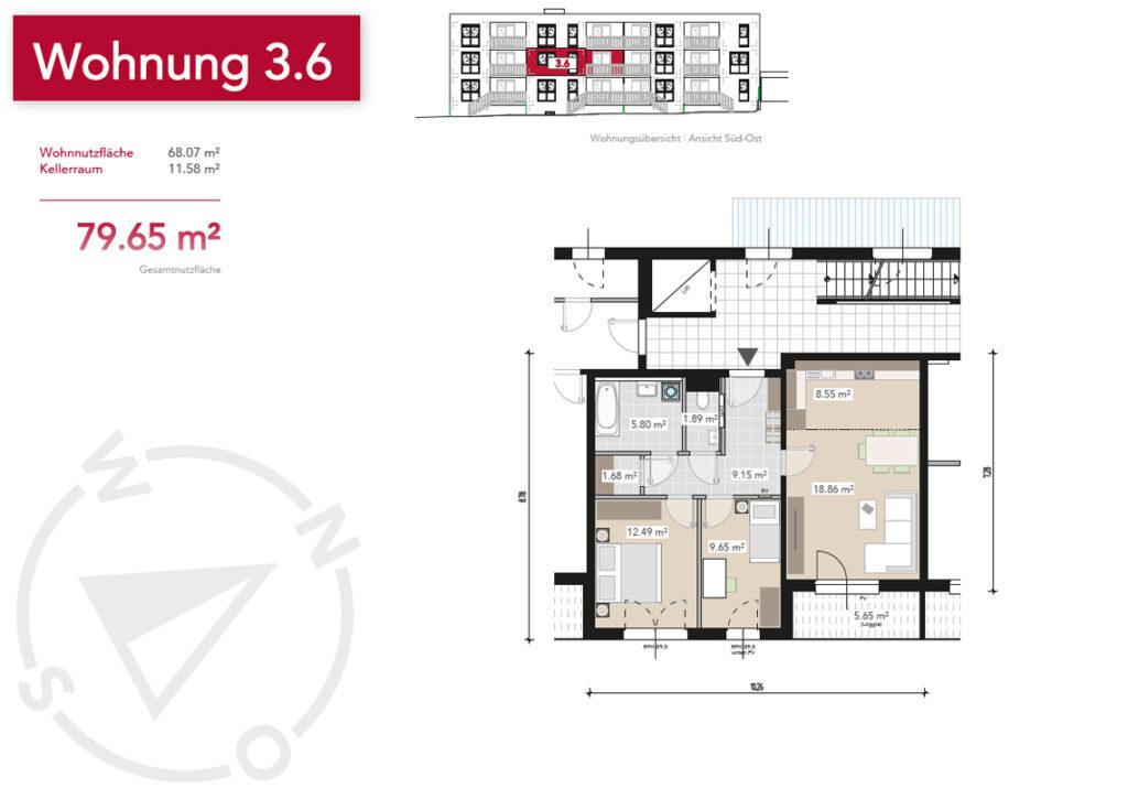 Wohnung 3.6